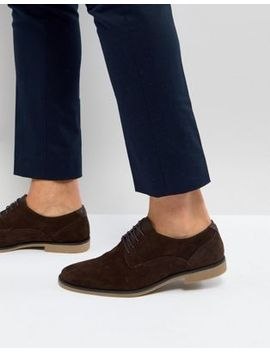 burton-menswear-derby-shoe-with-gum-sole by burton-menswear-london