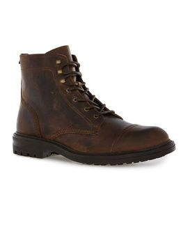tan-leather-toecap-boots by topman