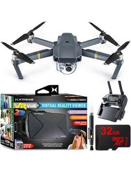 mavic-pro-platinum-quadcopter-drone-w_-4k-camera-+-virtual-reality-experience-bundle by dji