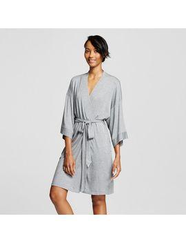 womens-pajama-total-comfort-kimono-wrap-robe-medium-heather-gray---gilligan-&-omalley by gilligan-&-omalley