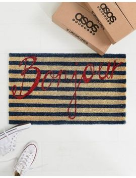 bombay-duck-bonjour-door-mat by bombay-duck
