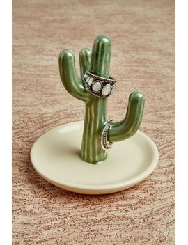 small-cactus-ring-holder by earthbound