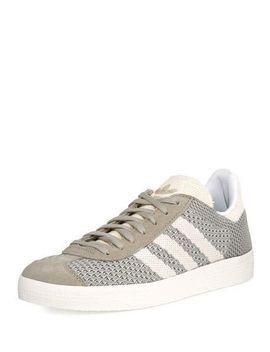gazelle-original-primeknit-sneaker,-gray by adidas