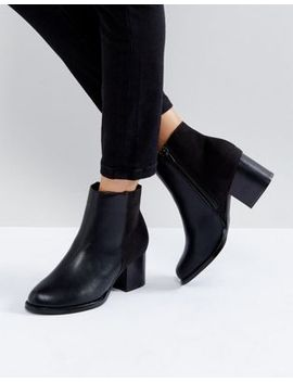 truffle-collection-kitten-heel-boot by boots