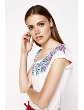 v-neck-floral-shirt by springfield