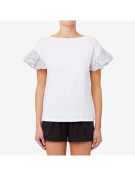 spot-sleeve-top by seed-heritage