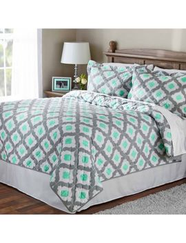 mainstays-mint-ogee-quilt,-1-each by mainstays