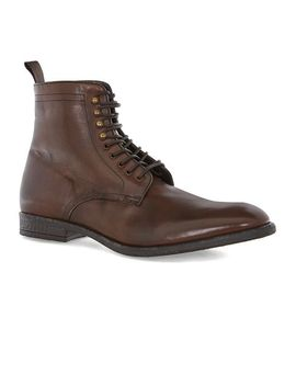 unions-tan-leather-tall-lace-boots by topman