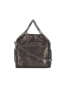 mini-metallic-pewter-falabella-shoulder-bag by stella-mccartney