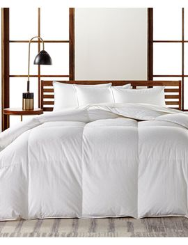 european-white-goose-down-medium-weight-comforters,-hypoallergenic-ultraclean-down,-created-for-macys by hotel-collection