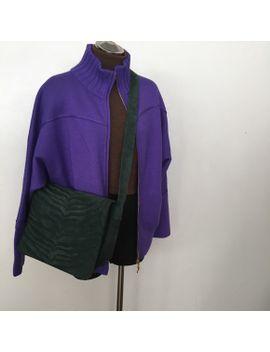 adrianne-vittadini-tiger-stripe-suede-shoulder-bag by adrienne-vittadini