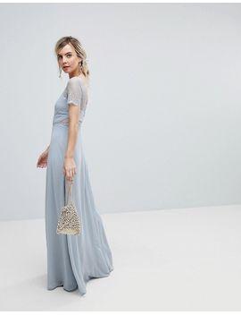 asos-petite-lace-insert-paneled-maxi-dress by asos-petite