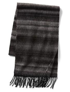 ombre-stripe-wool-scarf by gap
