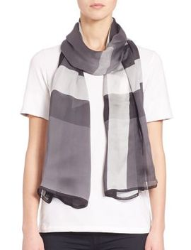 mega-check-ultra-washed-satin-scarf by burberry