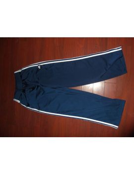 adidas-navy-blue-classic-sweatpants-mens-sz-s by ebay-seller