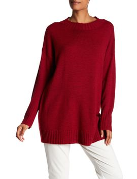 crew-neck-wool-blend-tunic by eileen-fisher