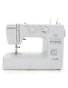 john-lewis-jl110-sewing-machine,-rose by john-lewis