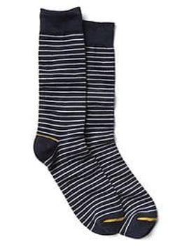 thin-stripe-crew-socks by gap