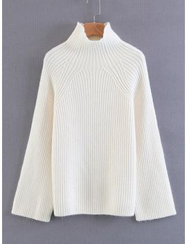 raglan-sleeve-jumper-sweater by sheinside