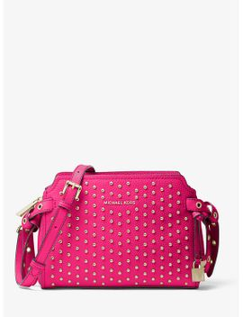 bristol-studded-leather-crossbody-bag by michael-kors