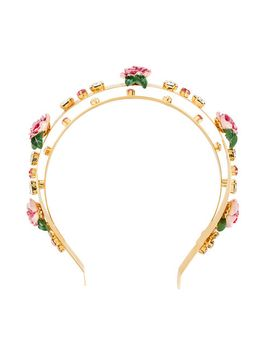 hairband-floral by dolce-&-gabbana