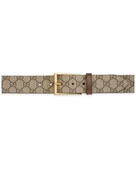 gg-print-canvas-belt by gucci