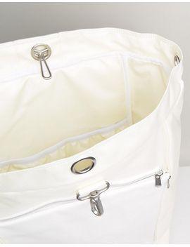 eastpak-plister-duffel-bag-in-ice-fabric by eastpak