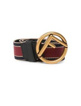 forever-fendi-logo-belt by fendi