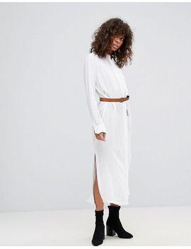 hone-linen-mix-maxi-shirt-dress by dress