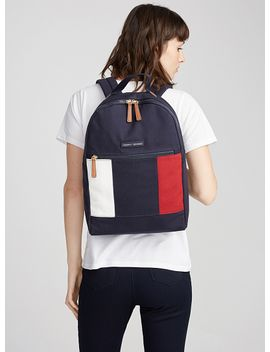 tricoloured-flag-backpack by tommy-hilfiger