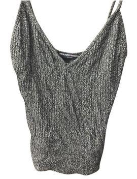 dark-grey-knit-tank-top_cami by brandy-melville