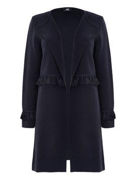 navy-tassel-detail-coatigan by wallis