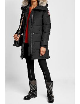 shelburne-down-parka-with-fur-trimmed-hood by canada-goose