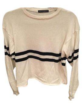 stripped-white-sweater by brandy-melville