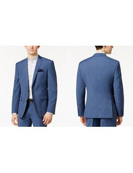 mens-dusty-blue-solid-slim-fit-suit-separates,-created-for-macys by bar-iii