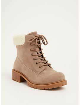 fuzzy-heel-hiker-boots-(wide-width) by torrid