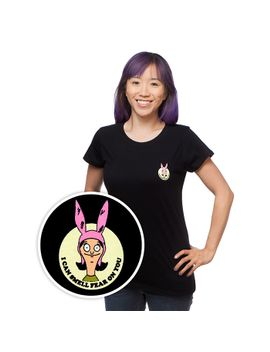 """bobs-burgers-""""i-can-smell-fear""""-ladies-t-shirt by think-geek"""