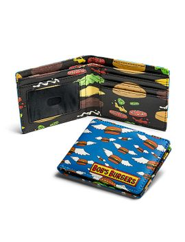 "bobs-burgers-""burger-heaven""-bifold-wallet---exclusive by think-geek"