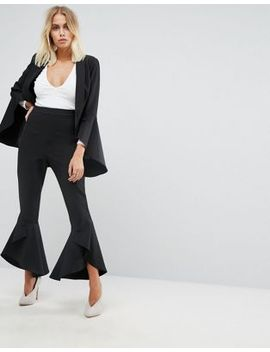 lavish-alice-frill-fitted-trousers by lavish-alice