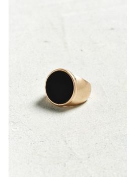 round-onyx-ring by urban-outfitters