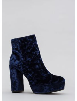oh-so-chunky-crushed-velvet-booties by gojane