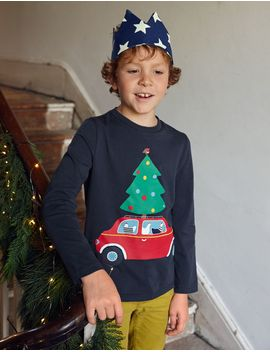 festive-vehicle-t-shirt by boden