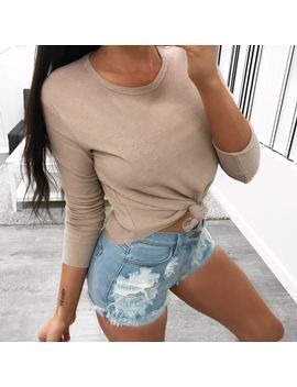 greci-top-(taupe) by lauras-boutique