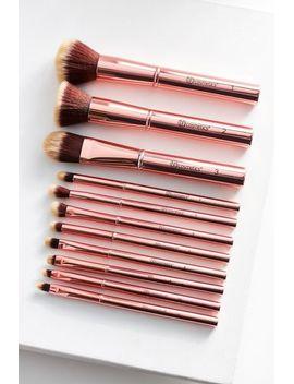 bh-cosmetics-metal-rose-11-piece-brush-set by voir-plus-de-bh-cosmetics