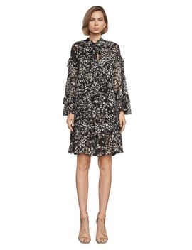 lindzey-a-line-print-dress by bcbgmaxazria