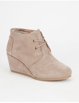 toms-suede-womens-desert-wedges by toms