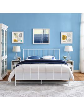estate-cottage-white-platform-bed by modway