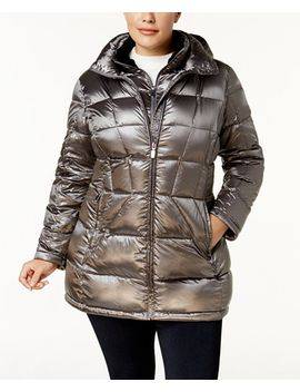 plus-size-packable-down-puffer-coat by calvin-klein