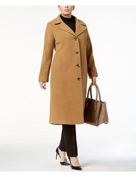 plus-size-wool-cashmere-maxi-walker-blend-coat by anne-klein