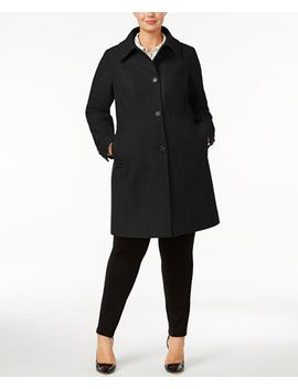 plus-size-seamed-walker-wool-cashmere-blend-coat by anne-klein
